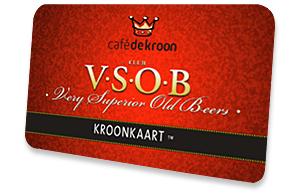 Clubcard VSOBcafe de kroon